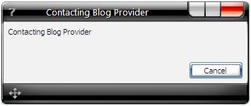 contacting blog provider